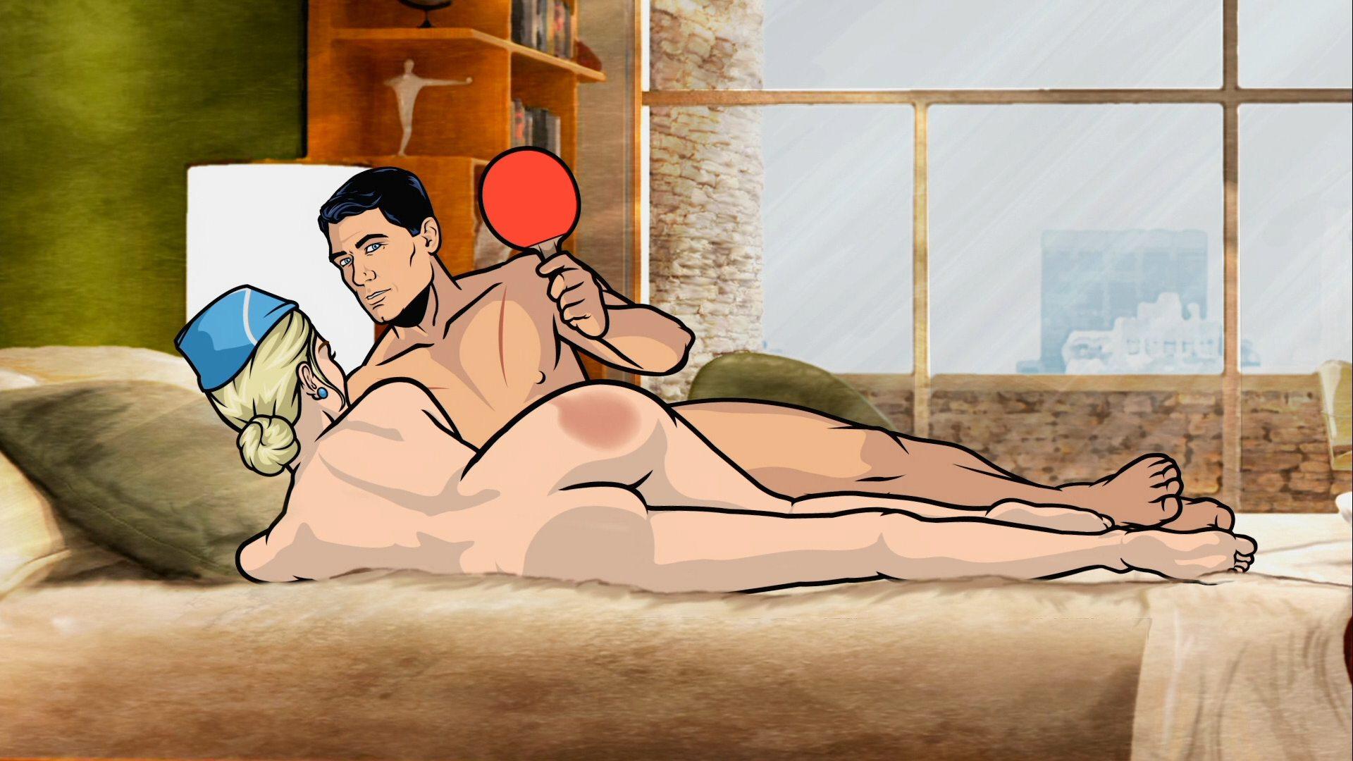 Archer nue hentai clip