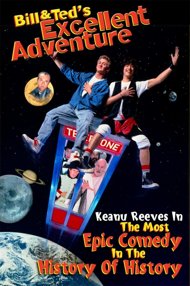 Фильм «Невероятные Приключения Билла И Теда» — 1989