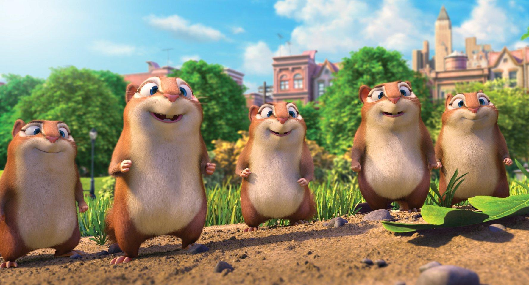 Реальная белка 2 / The Nut Job 2: Nutty by Nature (2017) HDRIP скачать торрент с rutor org