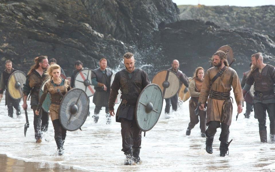 Сцена из фильма викинги vikings 2013