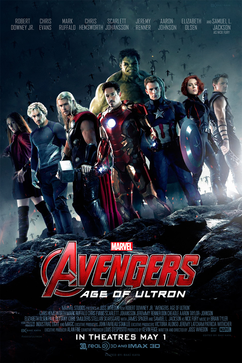 Avengers age of ultron 2015 скачать