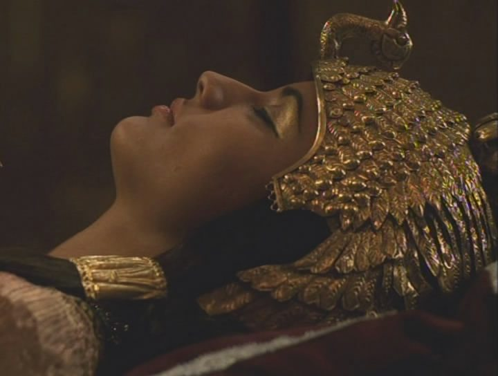 Cleopatra (1999): screencaps anglophile icons.