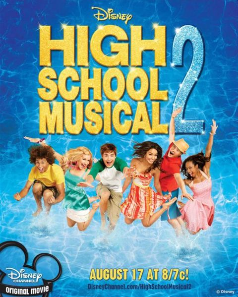 Классный Мюзикл 2 : Каникулы (2007) (High School Musical)
