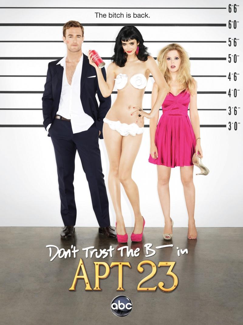Не верь су*** из квартиры 23 (2012) (Don't Trust the B---- in Apartment 23)