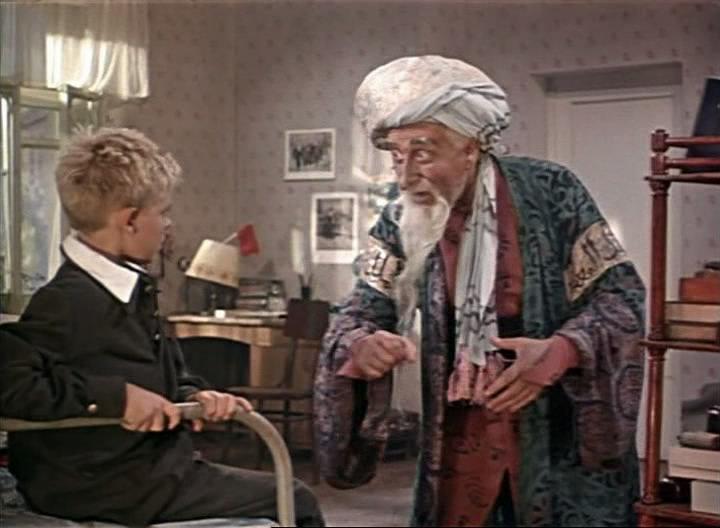 Из фильма старик хоттабыч 1956 старик