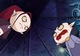 Сцена изо фильма Школа вампиров / Die schule der kleinen vampire (2006) Школа вампиров подмостки 0