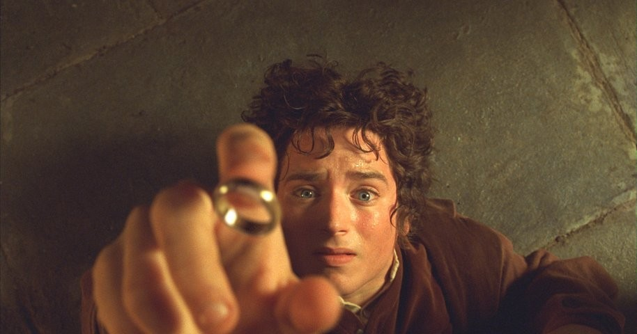 Сцена из фильма властелин колец