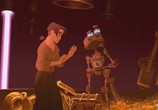 Сцена из фильма Планета сокровищ / Treasure Planet (2002) Планета сокровищ