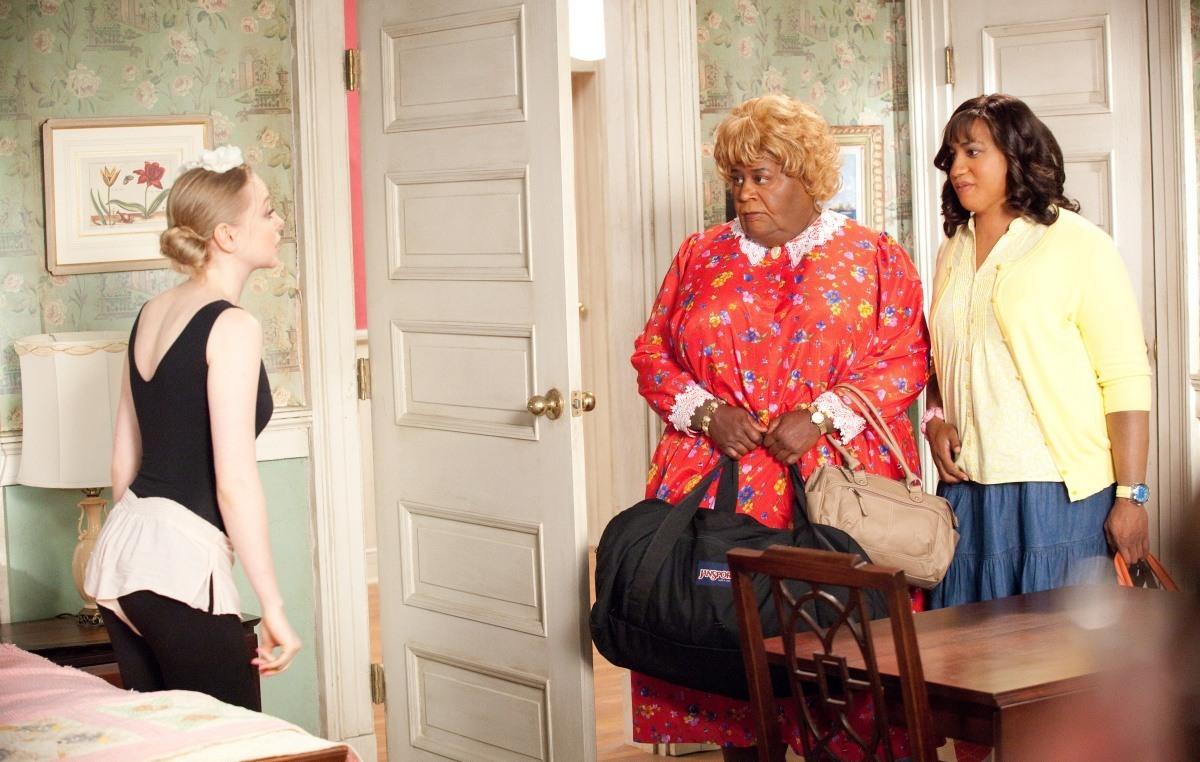 Сцена из фильма большие мамочки сын
