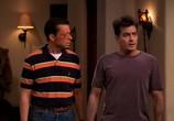 Сцена из фильма Два с половиной человека / Two and a Half Men (2003)
