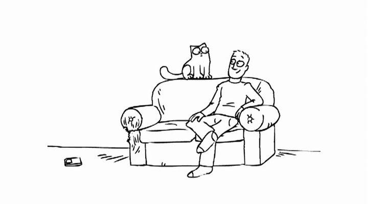 Кот саймон мультики скачать