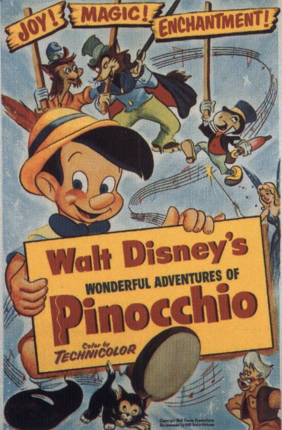 Пиноккио 1940 скачать торрент