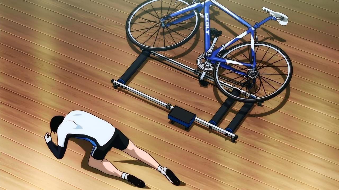Смотреть аниме трусливый велосипедист 9 фотография