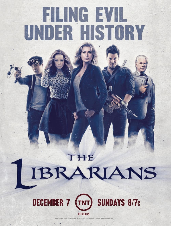 Библиотекари 1, 2, 3 сезон (2014-2016) смотреть сериал онлайн.