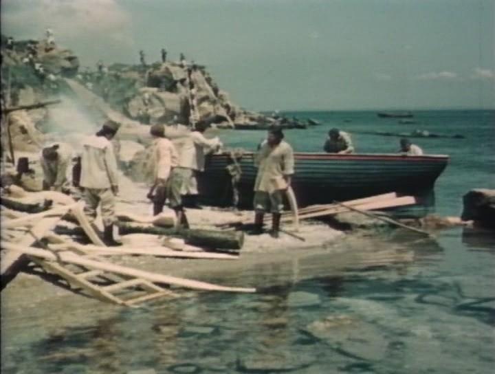 Скачать адмирал ушаков. Корабли штурмуют бастионы (1953) dvd9.