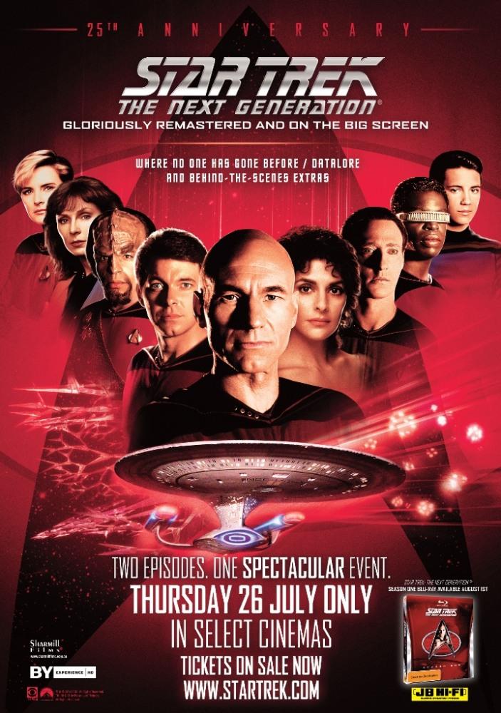 Звездный путь: следующее поколение сезон 1,2,3,4,5,6,7 (1987.