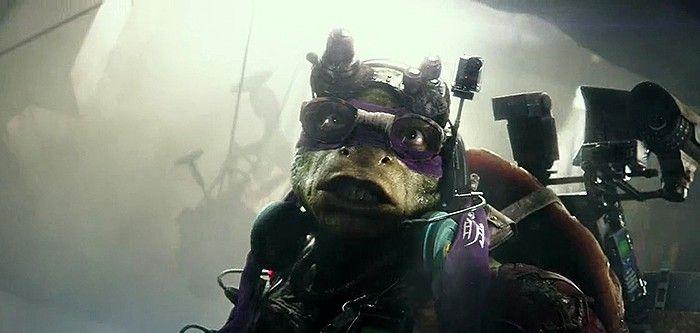 Сцена из фильма черепашки ниндзя teenage
