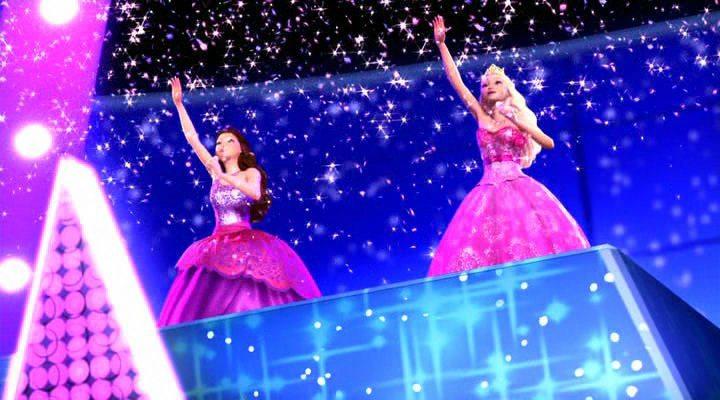 Скачать Барби: Принцесса и поп-звезда / Barbie: The Princess & The