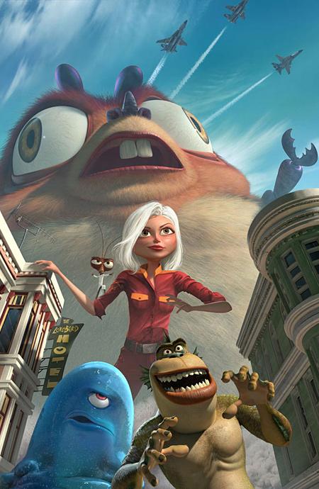 Монстры против пришельцев (2009) (Monsters vs. Aliens)