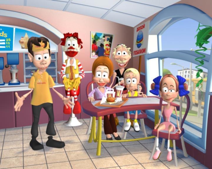 Кадр из мультфильма «Дятлоws»