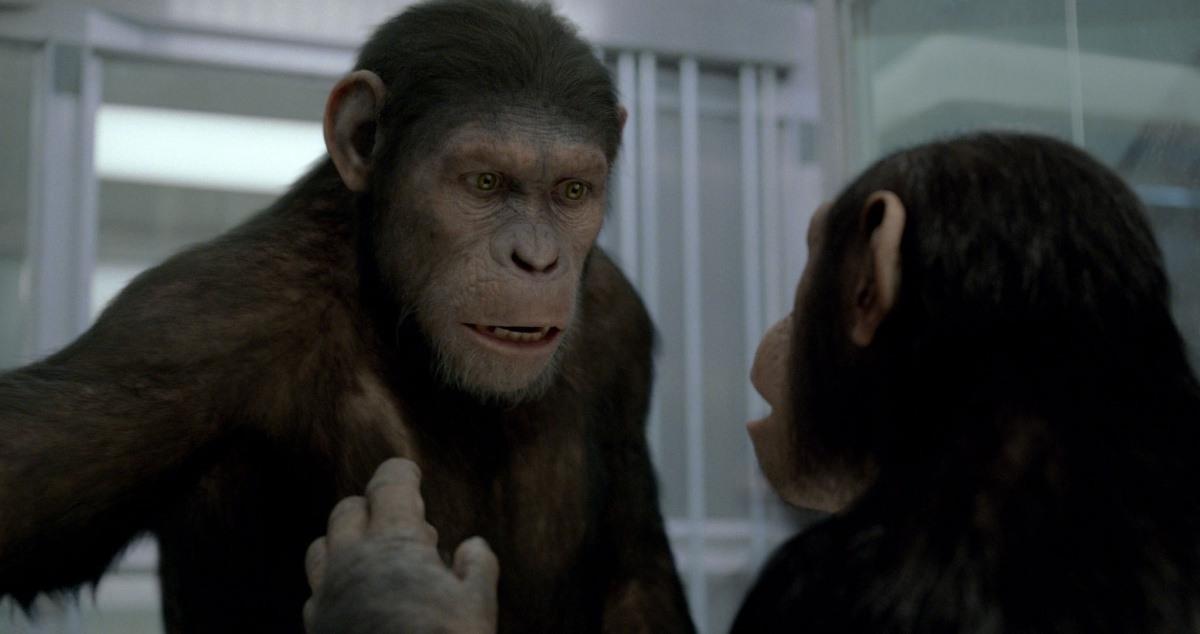 Сцена из фильма восстание планеты