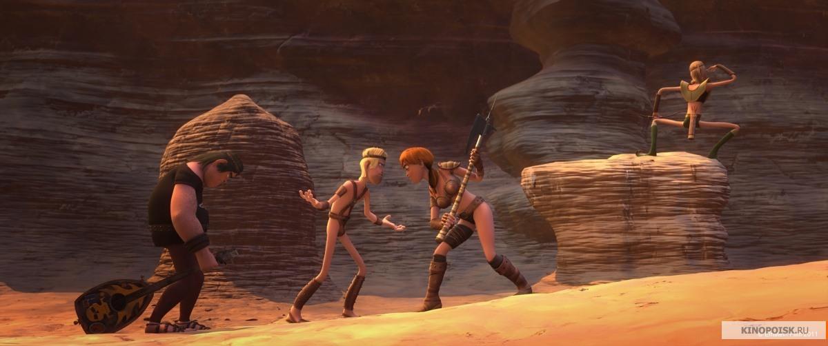 Сцена из фильма ронал варвар ronal barbaren