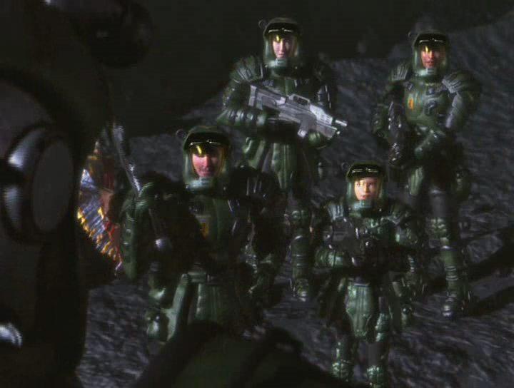 Звездный десант (1997) - смотреть онлайн